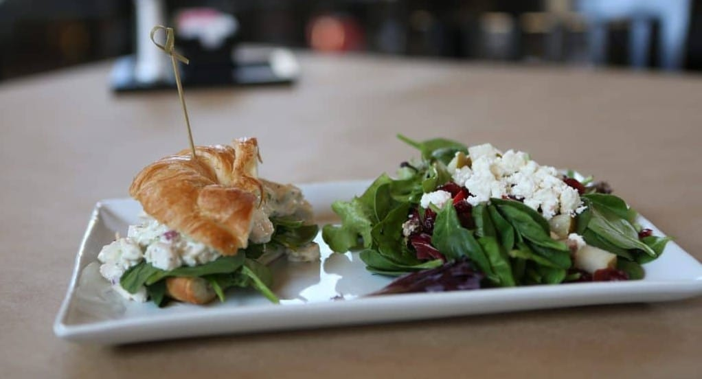 Salad & Sandwich