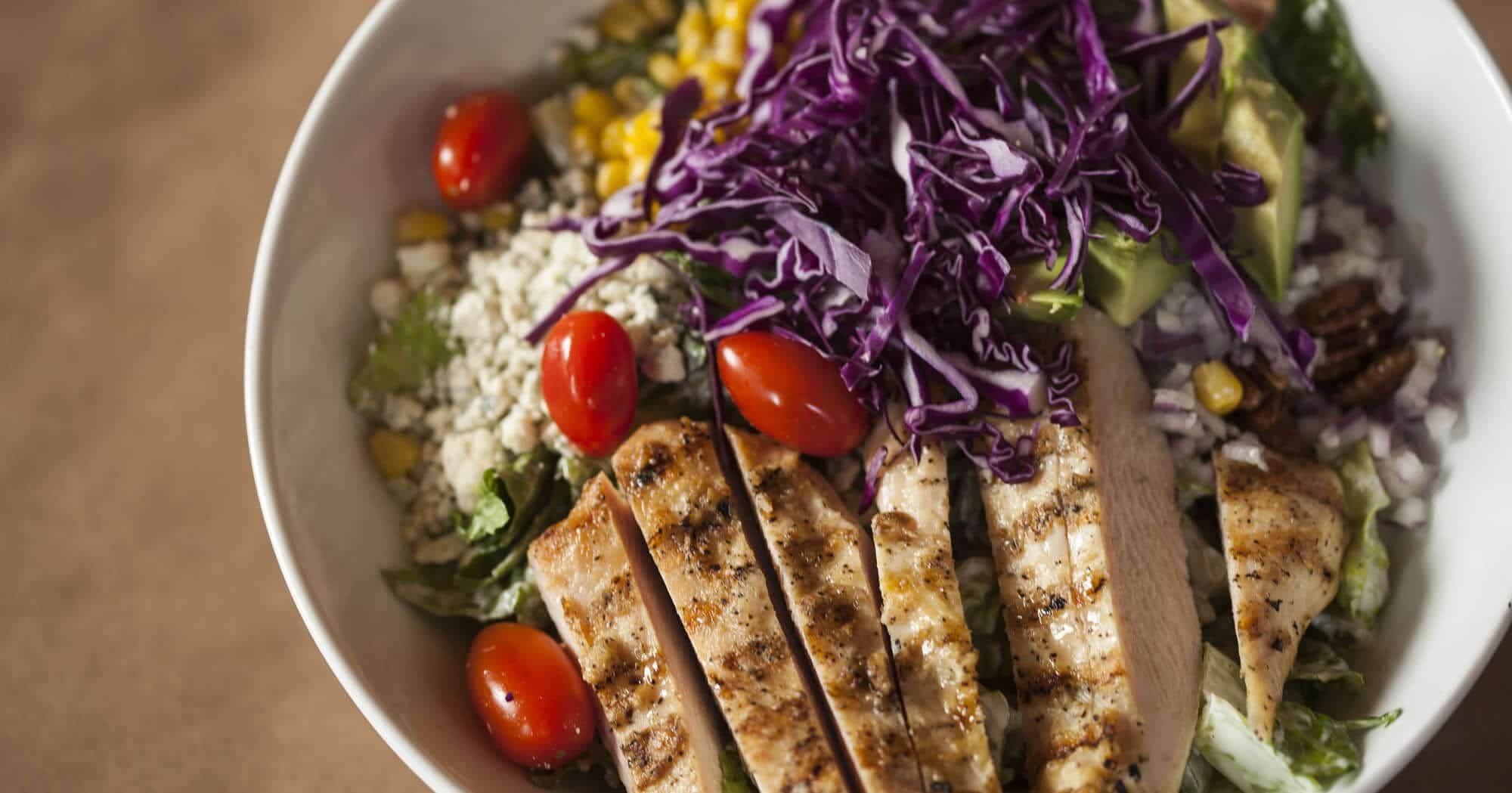 Great tasting Salads at Harvey's