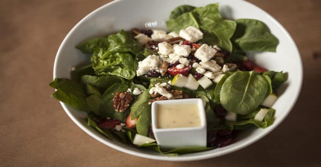 Healthy Spinach Salad